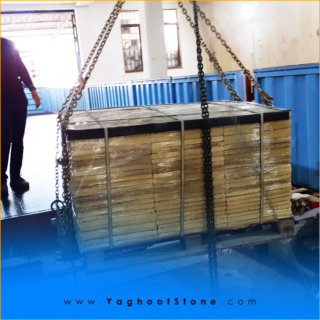صادرات موزاییک سنگی مصنوعی به عراق توسط شرکت سنگ مهندسی یاقوت