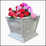 گلدان مربعی سنگی، سایز متوسط