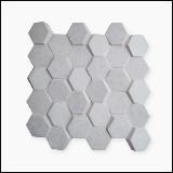 دیوارپوش سنگی سه بعدی طرح مشبک