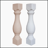 نرده سنگی صراحي 70 سانتي سنگ مصنوعي طرح تیتان