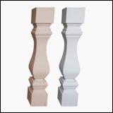نرده سنگی صراحی 70 سانتی سنگ مصنوعی طرح رایمون