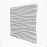 دیوارپوش سنگی طرح موج