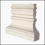 پای ستون سنگی تخت نما رومی کد RE-05