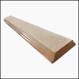 درپوش سنگی روی نرده (100x14x4 سانتیمتر)