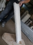 قرنیز زیر و روی نرده سنگی پله و تراس