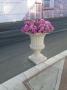 گلدان سنگی بزرگ طرح رومی